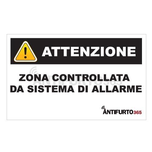 Adesivo deterrente antifurto allarme antifurto it for Sistema allarme casa