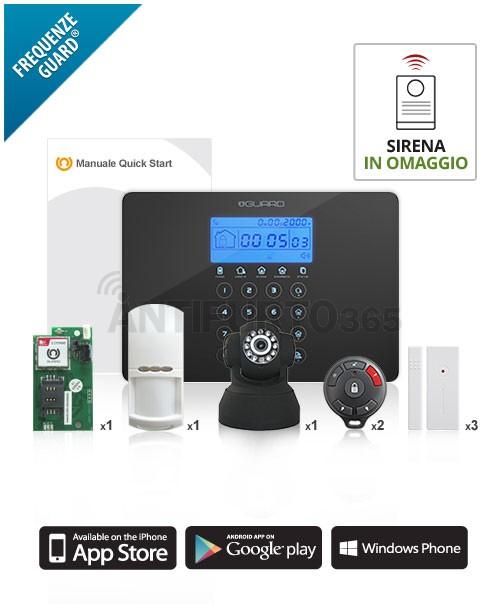 Kit con videosorveglianza v sentinel 3 app kit multi for Negozio con kit abitini