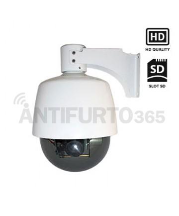 Telecamera IP senza fili da esterno 360°