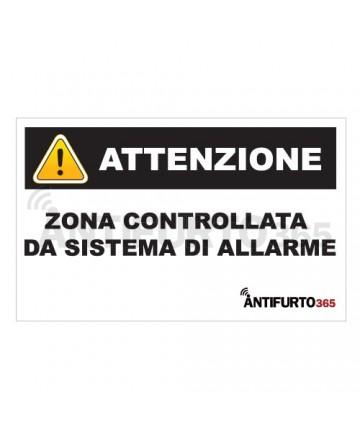 Adesivo deterrente antifurto allarme