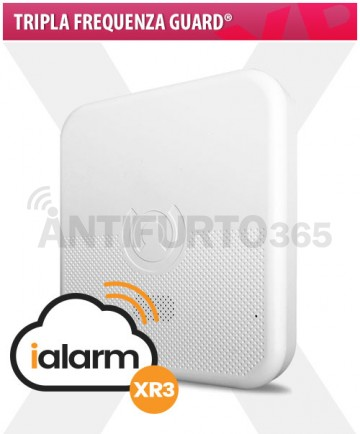 iALARM XR3, Tripla Frequenza Guard® WIFI INTERNET+gsm+sms