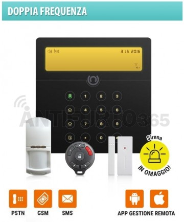 Kit SENTINEL 2(32x) Doppia Frequenza GSM+pstn+sms