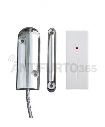 Sensore porta/finestra specifico per porte basculanti, ferro, blindate.