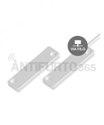 Sensore porta/finestra Bianco - via filo