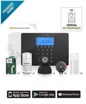 V‐SENTINEL 3 APP Kit ‐ Antifurto senza fili Frequenze Guard ® (colore grigio)