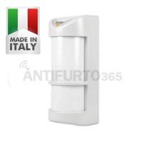 Sensore esterno walk doppio pir infrarosso 2 ir - Antifurto casa 365 ...