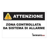 Adesivo deterrente antifurto allarme antifurto it - Antifurto casa 365 ...