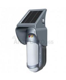Sensore movimento PIR+MW Tripla tecnologia da esterno ad Energia solare