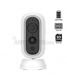 Telecamera IP 100% senza fili BAT-PRO a batteria, FULL HD, visione notturna