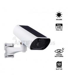Telecamera IP 100% senza fili CAM-SOLAR a batteria, frontale