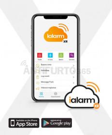 App WEB iALARM-XR videosorveglianza integrata