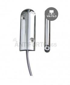 Sensore porta/finestra specifico per porte basculanti, ferro, blindate – via filo