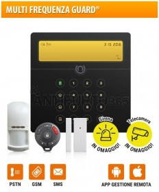 Kit SENTINEL 5(128x) Multi Frequenza Guard® GSM+pstn+sms