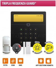 Kit SENTINEL 3(64x) Tripla Frequenza Guard® GSM+pstn+sms