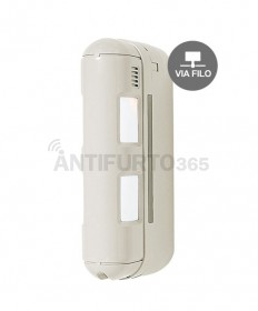 Sensore movimento Optex Doppio PIR a barriera da esterno - FILARE