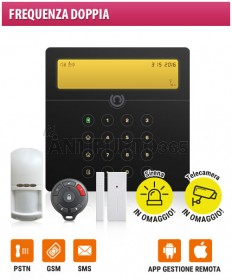 Kit Antifurto wireless senza fili Doppia Frequenza V‐SENTINEL 2 APP Kit