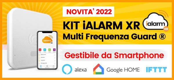 Kit iALARM Multi-Frequenza