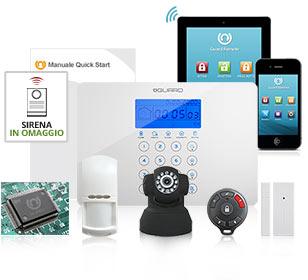 Kit antifurto per casa gsm wireless allarme senza fili da - Antifurto casa 365 ...