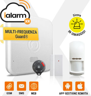 Kit iALARM web-IP gsm sms
